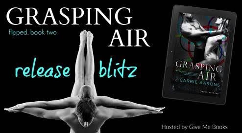 RELEASE BLITZ- Grasping Air by Carrie Aarons