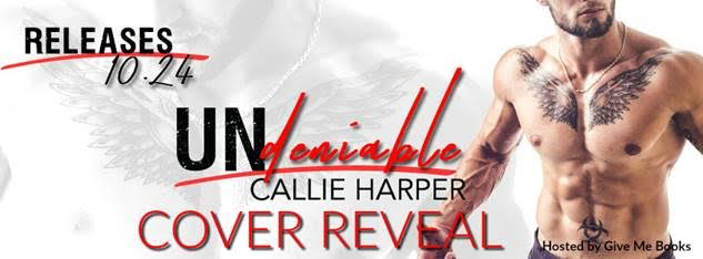 COVER REVEAL- Undeniable by Callie Harper