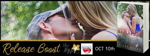 RELEASE BOOST- My Next Book Boyfriend by Vicki Green