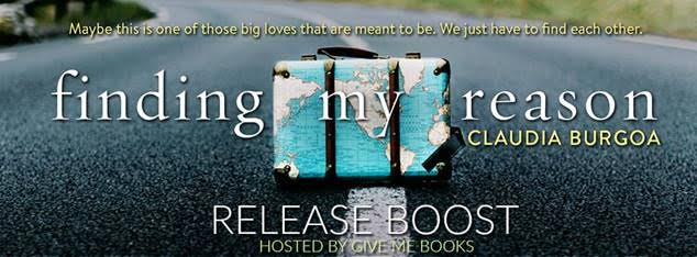 RELEASE- Finding My Reason by Claudia Burgoa