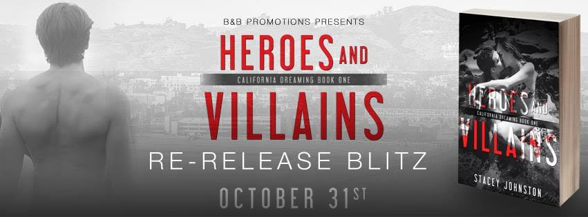 Re-Release Blitz: Heroes & Villains by StaceyJohnston