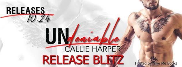 RELEASE BLITZ- Undeniable by CallieHarper