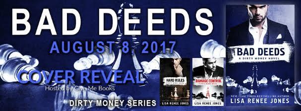 COVER REVEAL- Bad Deeds by Lisa ReneeJones