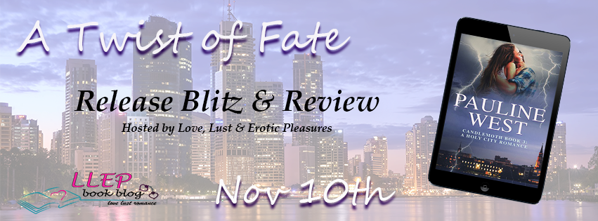 RELEASE Blitz- A Holy City Romance 'A Twist of Fate' by Pauline West