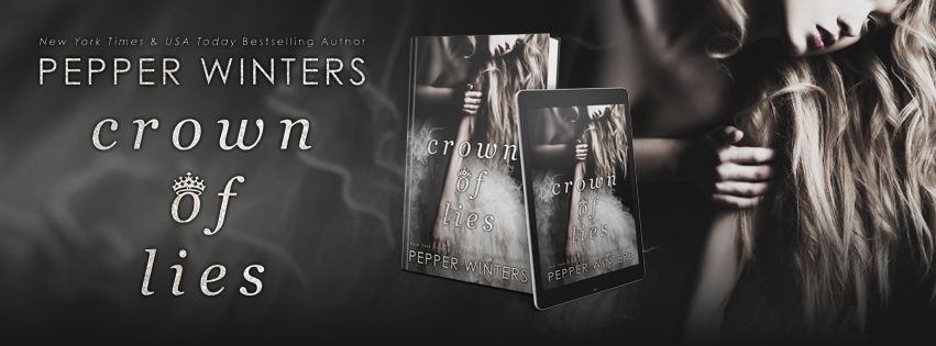COVER REVEAL: Crown of Lies by Pepper Winters
