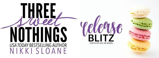 RELEASE BLITZ- Three Sweet Nothings by Nikki Sloane