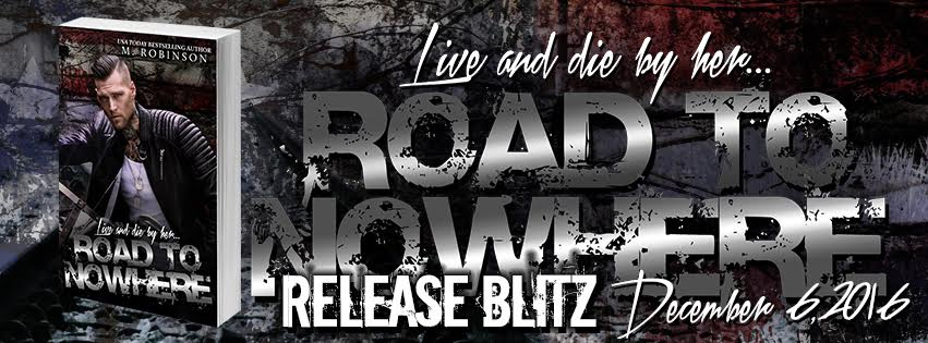 Release Blitz: ROAD TO NOWHERE by M. Robinson