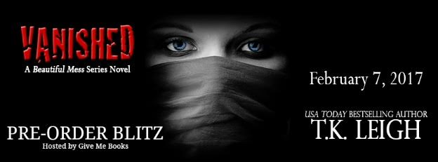 PRE-ORDER BLITZ- Vanished by T.K.Leigh