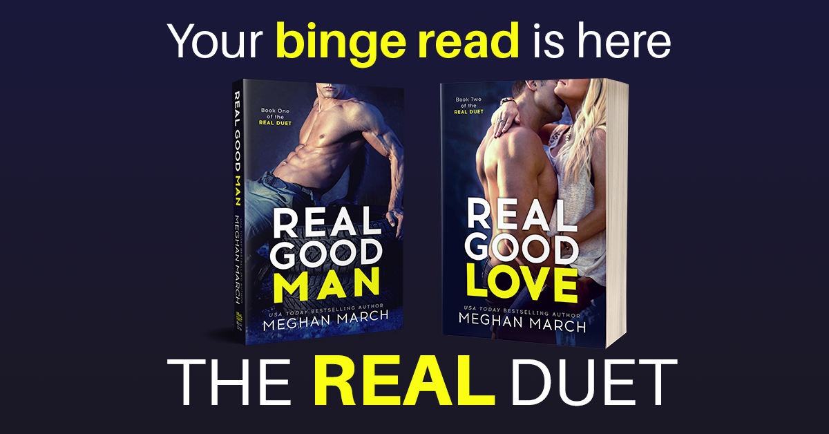 Release Blitz: REAL GOOD LOVE by Meghan March