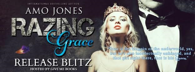 RELEASE BLITZ- Razing Grace: Part 2 by Amo Jones