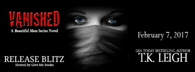 RELEASE BLITZ- Vanished by T.K.Leigh