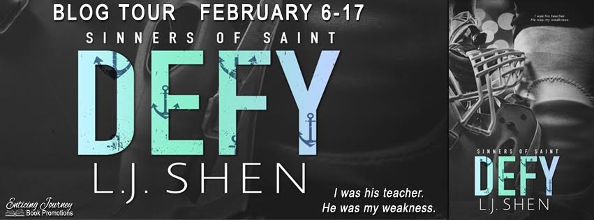 Blog Tour: Defy by LJ Shen