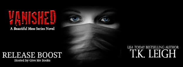 RELEASE BOOST PACKET – Vanished by T.K.Leigh