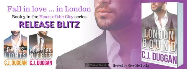 RELEASE BLITZ- London Bound by C.J. Duggan