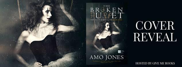 COVER REVEAL- The Broken Puppet by Amo Jones