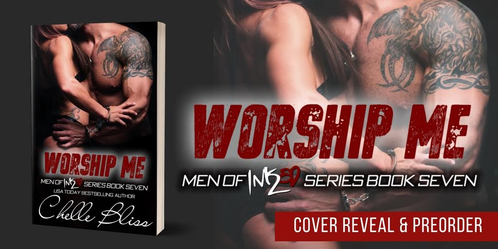 Cover Reveal- Worship Me by Chelle Bliss