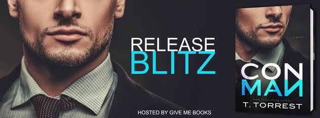 RELEASE BLITZ- Con Man by T.Torrest