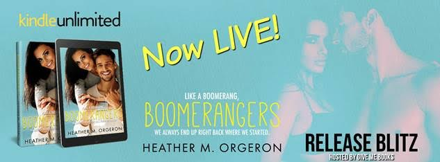 RELEASE BLITZ – Boomerangers by Heather M. Orgeron