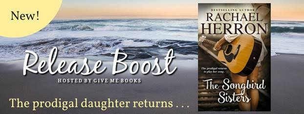 RELEASE BOOST- The Songbird Sisters by Rachael Herron