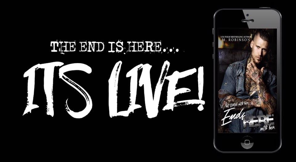 Blog Tour- Ends Here by M. Robinson