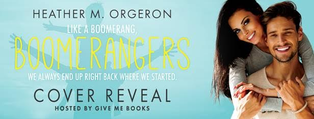 COVER REVEAL- Boomerangers by Heather M. Orgeron
