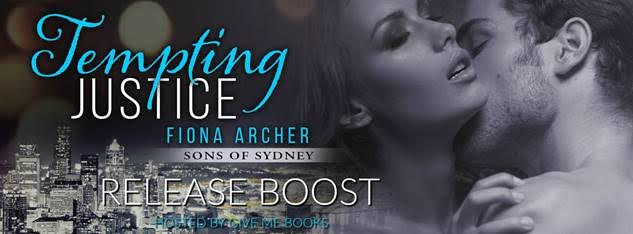 RELEASE BOOST- Tempting Justice by Fiona Archer