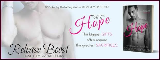 RELEASE BOOST – Holding onto Hope by Beverly Preston
