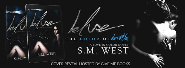 COVER REVEAL- Blue by S.M.West