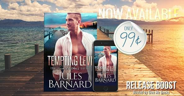 RELEASE BOOST- Tempting Levi by Jules Barnard