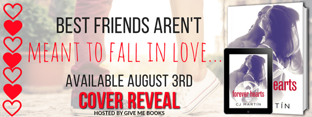 COVER REVEAL- Forever Hearts by CJ Martin