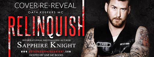 COVER RE-REVEAL – Relinquish by SapphireKnight