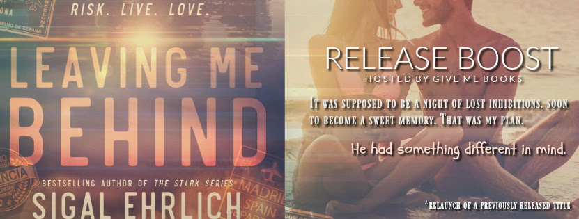 RELEASE BOOST- Leaving Me Behind by Sigal Ehrlich