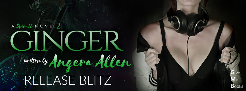 RELEASE BLITZ – Ginger by Angera Allen