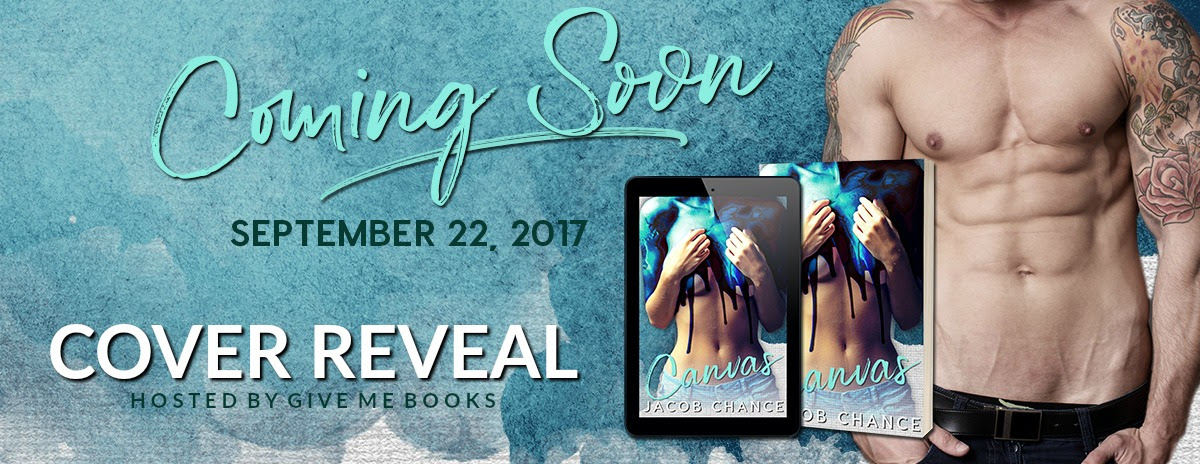 COVER REVEAL- Canvas by Jacob Chance