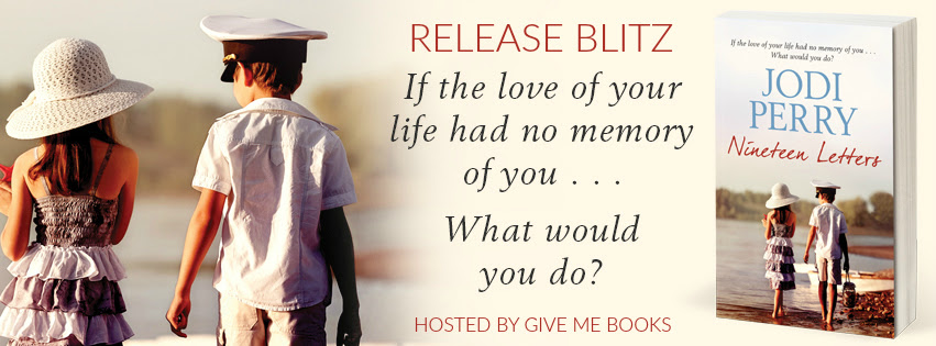 RELEASE BLITZ- Nineteen Letters by JodiPerry