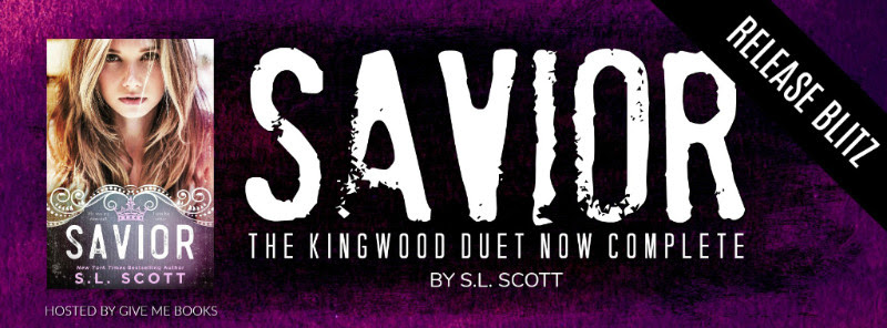 RELEASE BLITZ- Savior by S.L.Scott