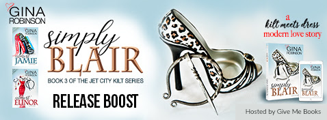 RELEASE BOOST- Simply Blair by Gina Robinson