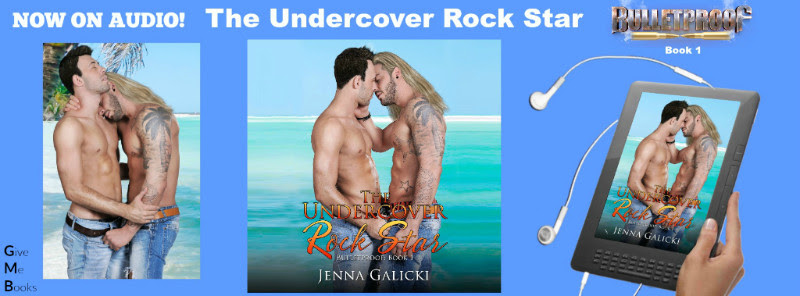AUDIBLE RELEASE BLITZ- The Undercover Rock Star by JennaGalicki