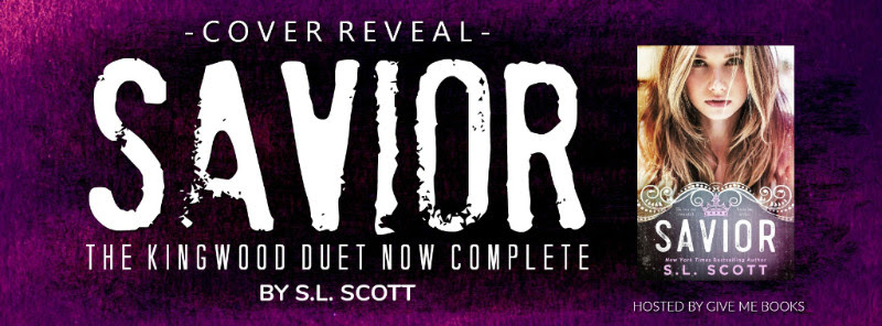 COVER REVEAL – Savior by S.L. Scott
