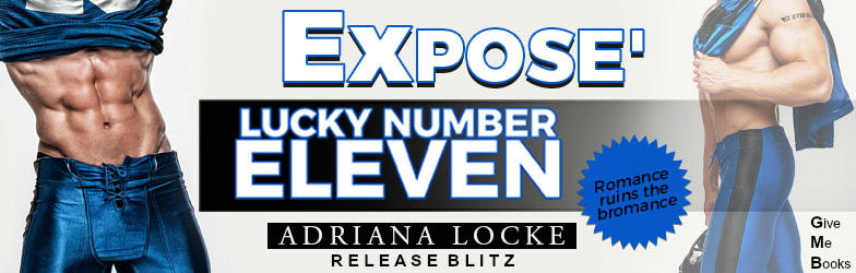 RELEASE BLITZ- Lucky Number Eleven by AdrianaLocke