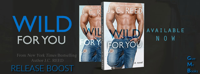 RELEASE BOOST- Wild For You by J.C.Reed