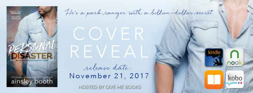 COVER REVEAL- Personal Disaster by Ainsley Booth