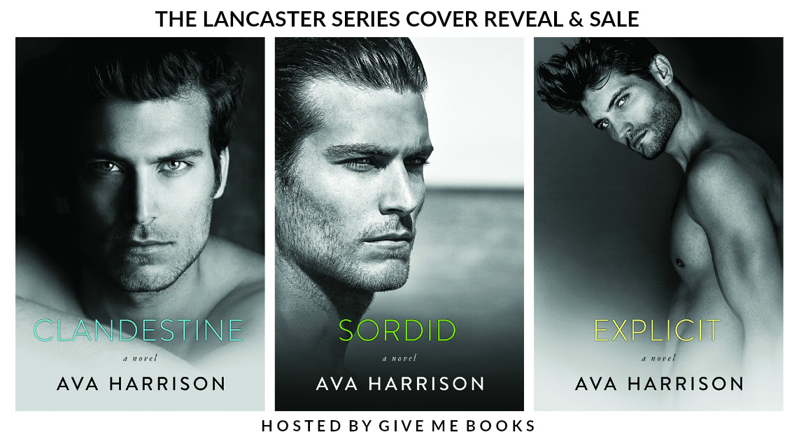 SERIES COVER REVEAL & SALE- The Lancaster Series by AvaHarrison