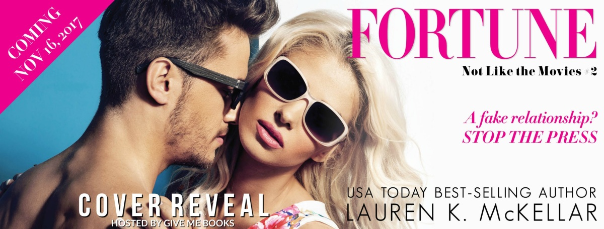 COVER REVEAL- Fortune by Lauren K.McKellar