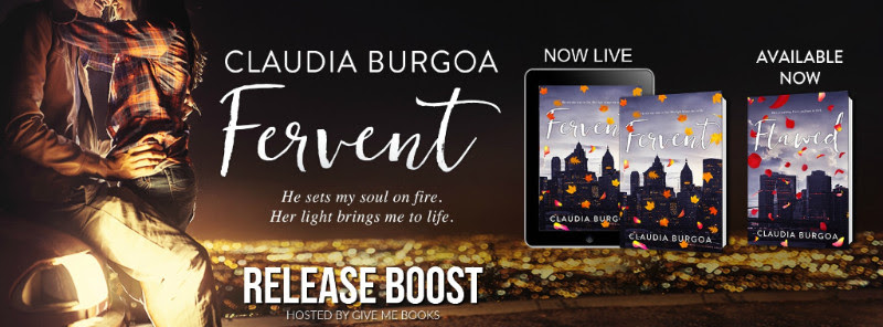RELEASE BOOST- Fervent by Claudia Burgoa