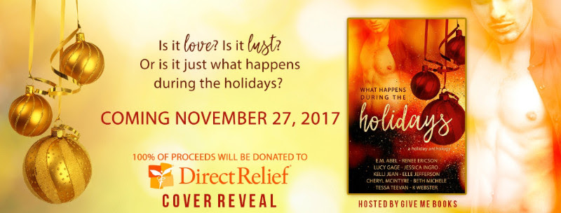 COVER REVEAL- What Happens During the HolidaysAnthology